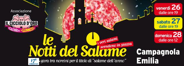 Notti del Salame 2017